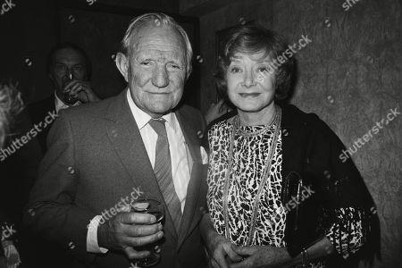 Trevor Howard with His Wife Helen Cherry