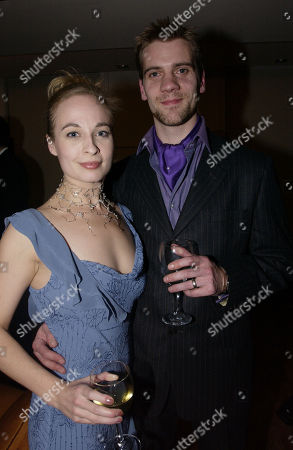 Sarah Wildor with Her Husband Adam Cooper
