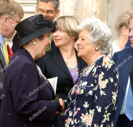 Editorial picture of Dame Thora Hird Memorial Service of Thanksgiving at Westminster Abbey London, UK - 15 Sep 2003