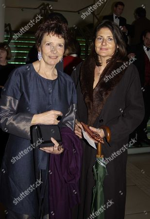 Head of the Bfi Joan Bakewell and Cristina Odone