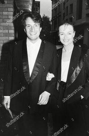 Kit Hesketh Harvey with His Wife Catherine (katie) Rabett