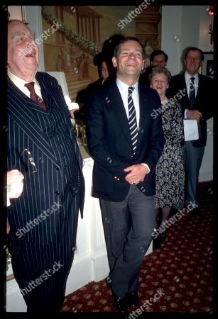 Robert Morley and Jeffrey Archer