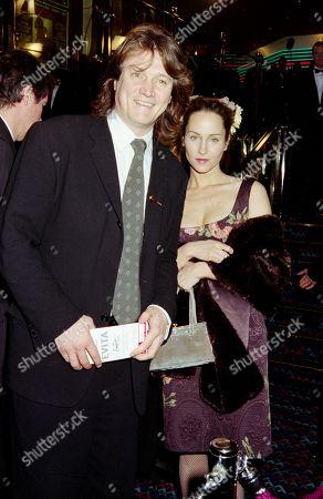 Peter Howitt with His Girlfriend Jayne Ashbourne