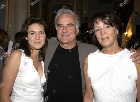 Sir Richard Eyre with His Wife Sue Birtwistle and Their Daughter Lucy
