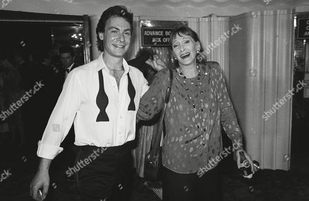Sian Phillips with Her Husband Robin Sachs