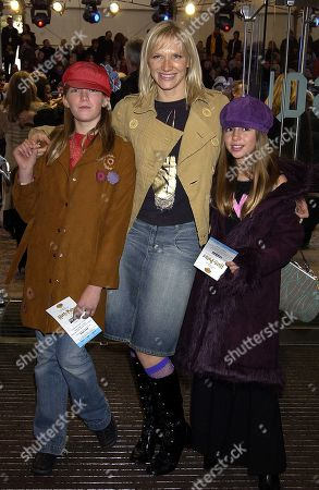 Jo Whiley with Her Daughters India Whiley-morton and Coco Whiley-morton