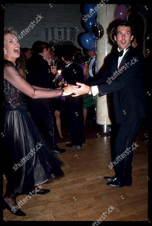 Pierce Brosnan Dances with His Wife Cassandra Harris
