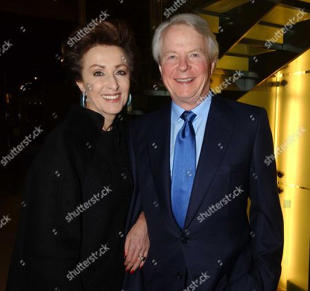 Stock Image of Mercedes Bass with Her Husband William (bill) Bass