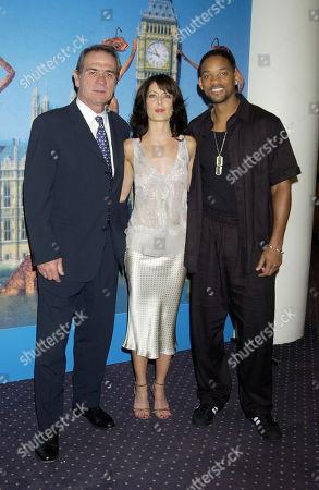 Tommy Lee Jones Lara Flynn Boyle and Will Smith