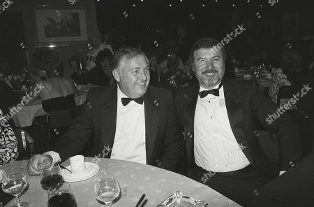 Alan Bond and Producer Menahem Golan
