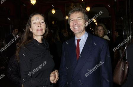 Katharine Hamnett and Clive Aslet