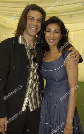 Gary Turner and Shobna Gulati
