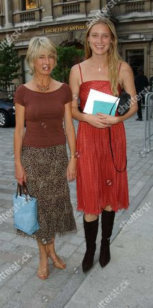 Lady Jane Rice with Her Daughter Eva Rice