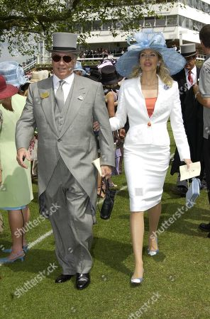 Aga Khan Iv with His Wife Begum Inaara Aga Khan Princess Gabriele of Leiningen
