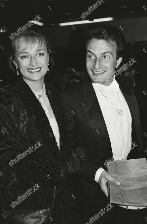 Kit Hesketh-harvey with His Wife Catherine (katie) Rabett