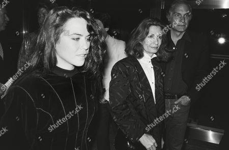 Koo Stark and Kathleen Tynan Widow of Kenneth Tynan