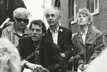 Pam St Clement Leslie Grantham and Leonard Fenton and Sally Tully