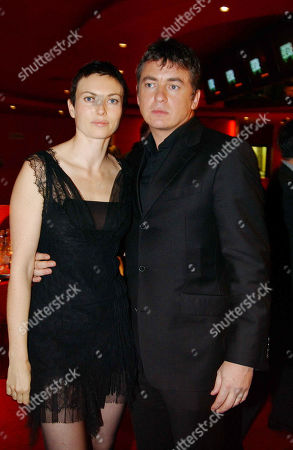 Natasha Wightman and Shane Richie