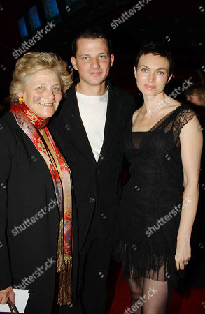 Dame Vivien Duffield with Her Son George Duffield and His Wife Natasha Wightman (she in the Film)