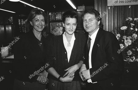 Natascha Mcelhone with Her Mother Noreen Taylor and Step-father Roy Greenslade
