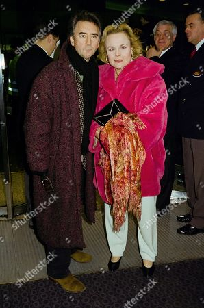 Denis Lawson with His Partner Sheila Gish