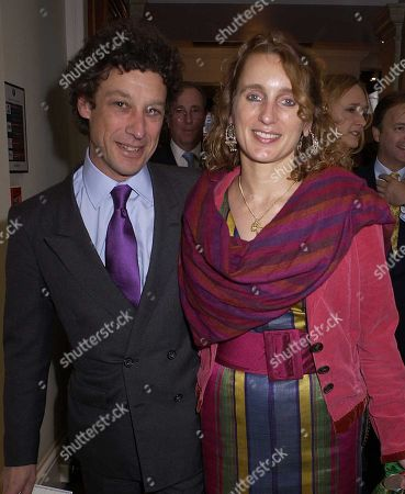 Adam Zamoyski with His Wife Emma Sergeant