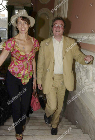 Christopher Simon Sykes with His Wife