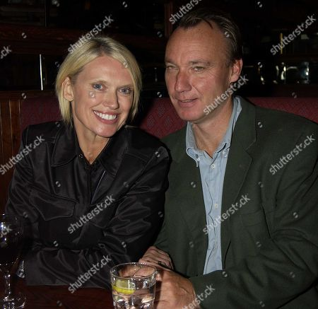 Stock Photo of Anneka Rice with Her Partner Simon Bell