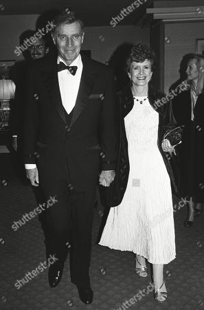 Charlton Heston with His Wife Lydia Clarke