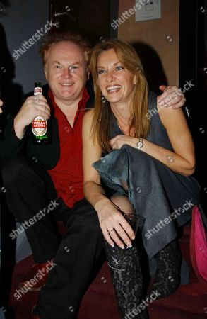 Stock Image of Mike Batt with His Wife Julianne White