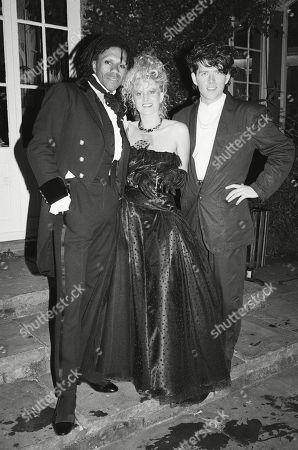 Joe Leeway Thompson Alannah Currie and Tom Bailey