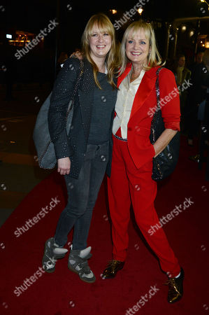 Stock Image of Twiggy with Her Daughter Carly Witney