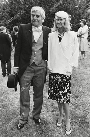Gunter Sachs with His Wife Mirja Larsson