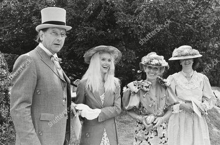 Editorial picture of Wedding of Count Leopold (bolla) Von Bismarck to Debonnaire Jane Patterson London, UK - 1 Jan 1984
