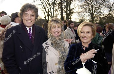 Tom Stoppard Marsha Fitzalan Howard and Celestia Fox