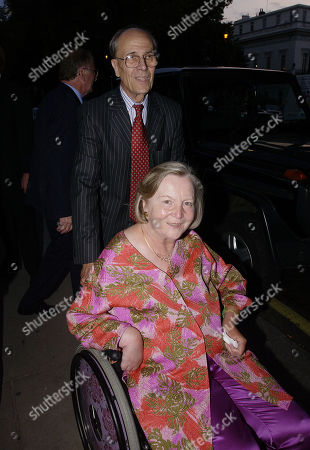 Lord Norman Tebbit with His Wife Lady Margaret Tebbit