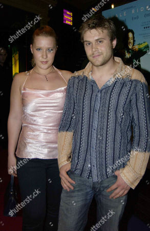 Daniel Bedingfield with His Sister Nikola Rachelle