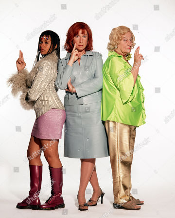 Liz Smith as Lizzie, Kay Mellor as Rita and Angel Coulby as Leah.