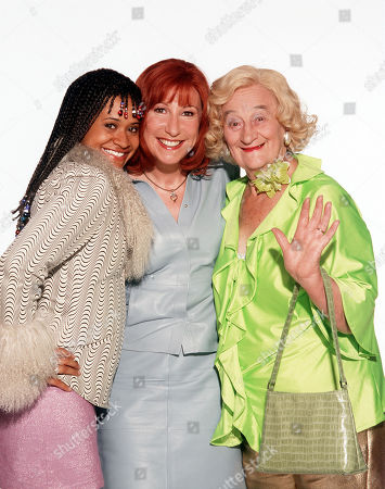 Angel Coulby as Leah, Kay Mellor as Rita and Liz Smith as Lizzie.