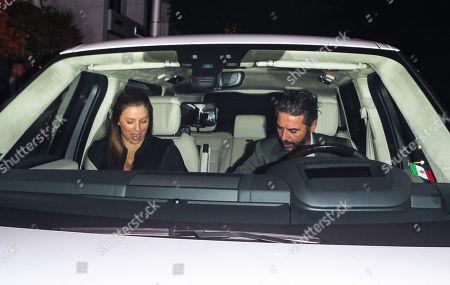 Stock Image of Eva Longoria and Jose Antonio Baston