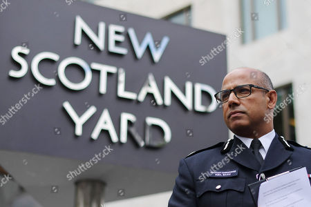 Assistant Commissioner Neil Basu during press conference updating press on the current situation