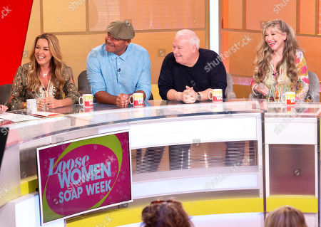 Claire Sweeney, Louis Emerick, Michael Starke and Sue Jenkins