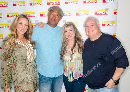 Stock Photo of Claire Sweeney, Louis Emerick, Sue Jenkins and Michael Starke