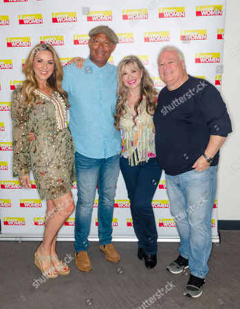Stock Picture of Claire Sweeney, Louis Emerick, Sue Jenkins and Michael Starke