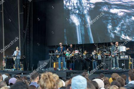 Editorial image of Outside Lands music festival, San Francisco, California, USA - 11 Aug 2018