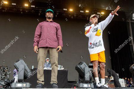 Stock Photo of N.E.R.D. - Chad Hugo and Pharrell Williams