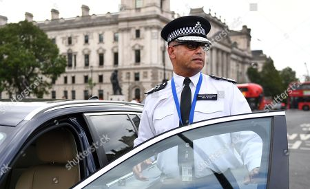 Editorial picture of Incident outside Houses of Parliament in London, United Kingdom - 14 Aug 2018