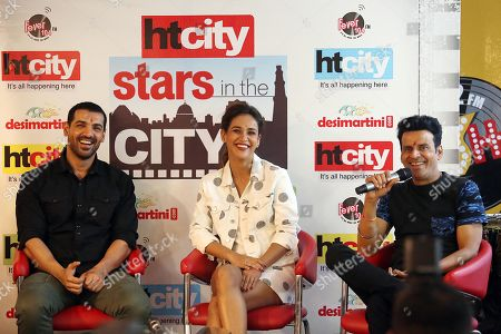 John Abraham, Aisha sharma and Manoj Bajpayee