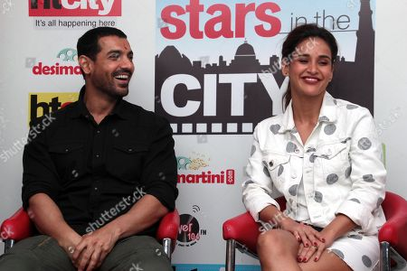 John Abraham and Aisha Sharma