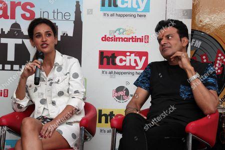 Aisha Sharma and Manoj Bajpayee